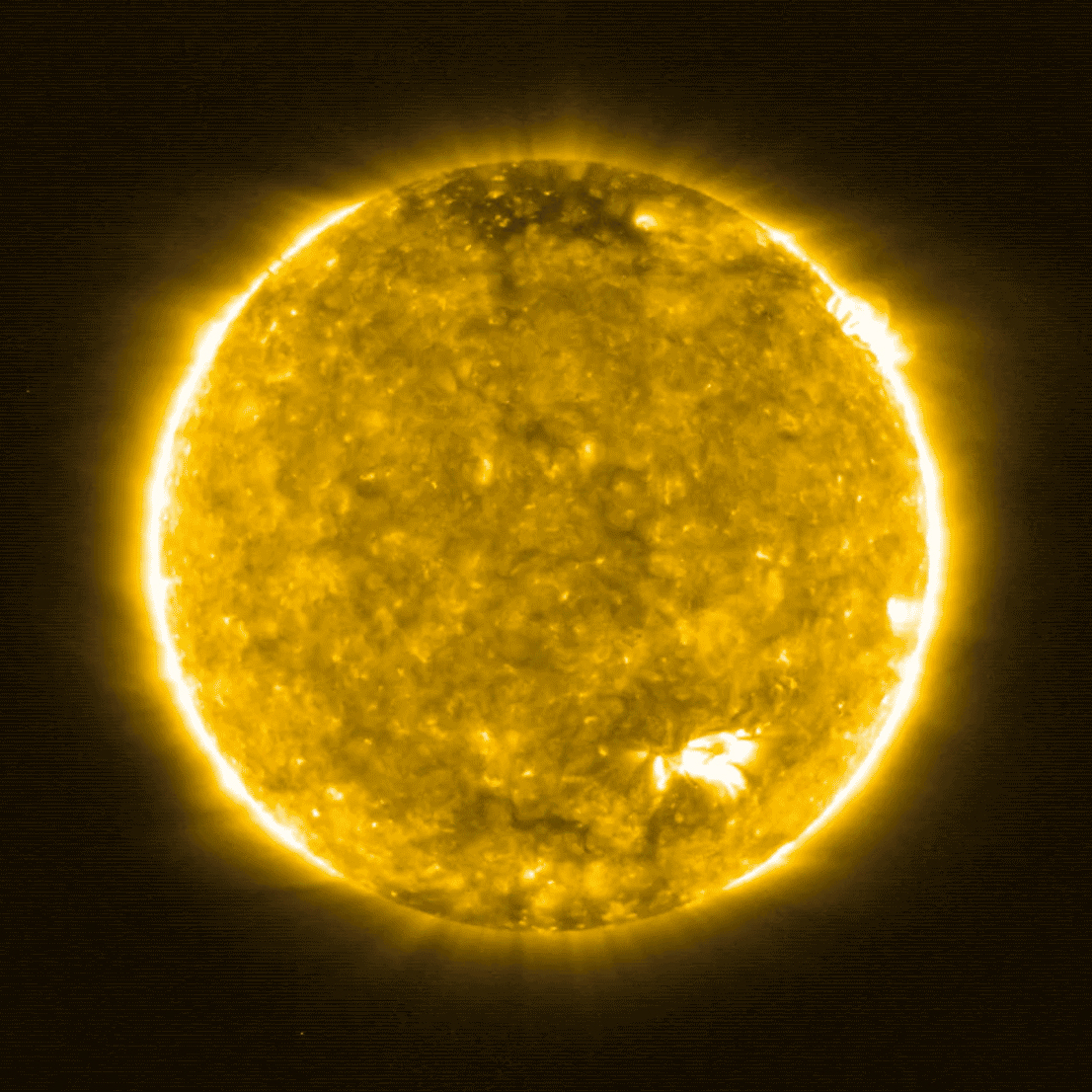 Solar Orbiter Snaps Closest Photos Ever of Sun