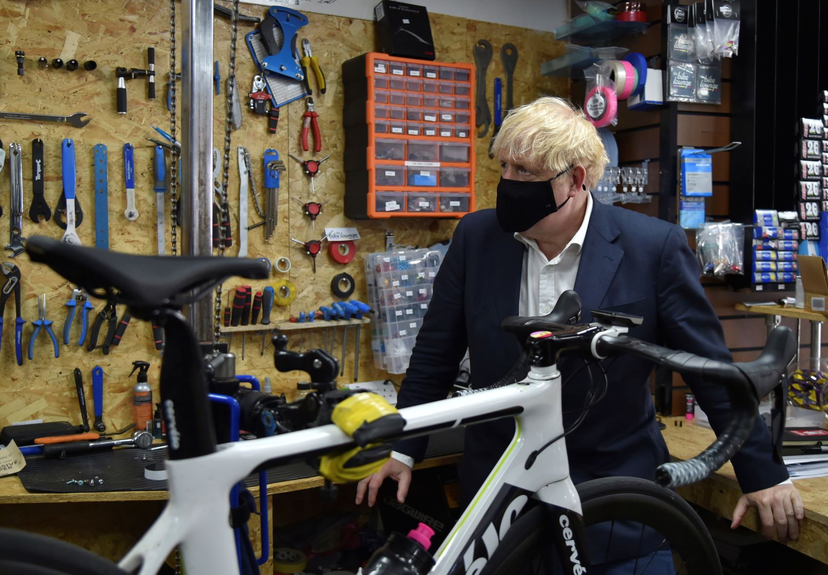 Boris Johnson Rides Made-In-India Cycle At Launch Of Health Programme