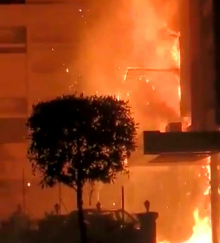 Fire at COVID-19 facility kills 7 in south India