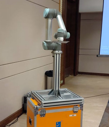 Use of robots in manufacturing demonstrated at CII seminar