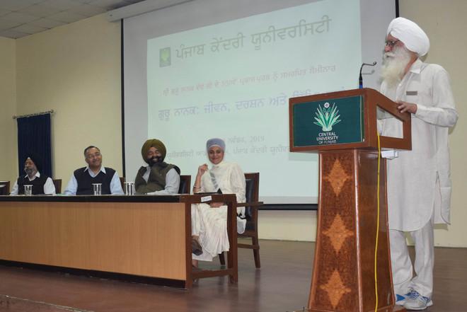 Seminar on Guru Nanak's life at CUPB