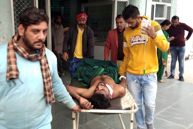 Tried to stop eve-teasing, man shot at by assailants