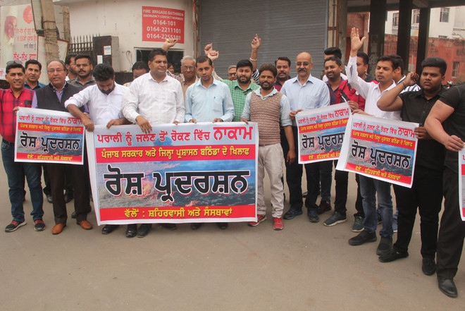 NGOs come together to protest against stubble-burning menace
