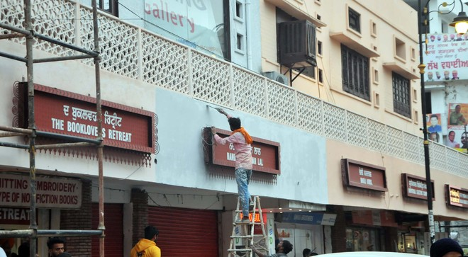 Locals give thumbs up to beautification of Hall Bazaar street