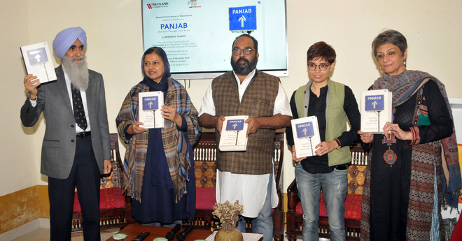 Panjab: Journeys Through Fault Lines released in city