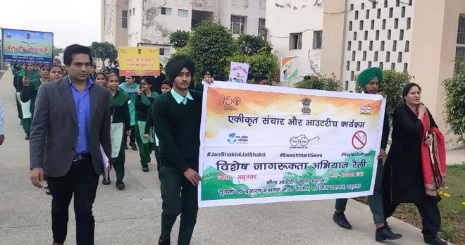 Students highlight importance of cleanliness, water conservation