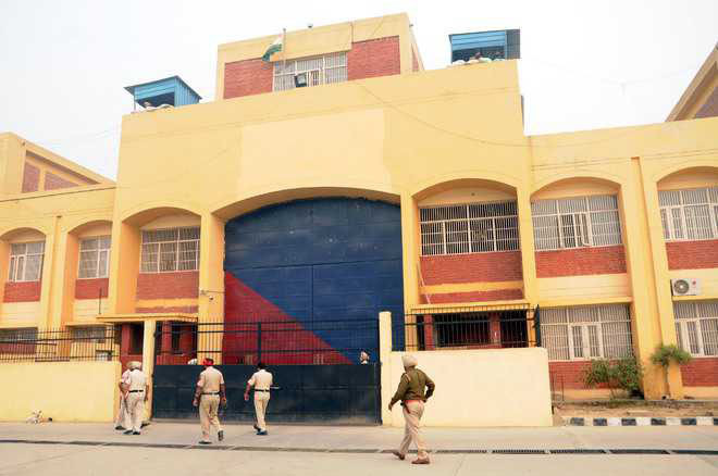 Finally, CRPF personnel deployed at Central Jail