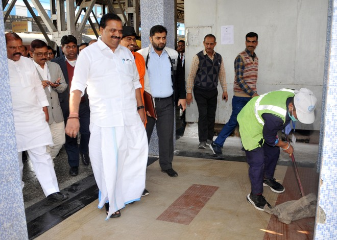 Cleaning during inspection takes Railway Board team by surprise
