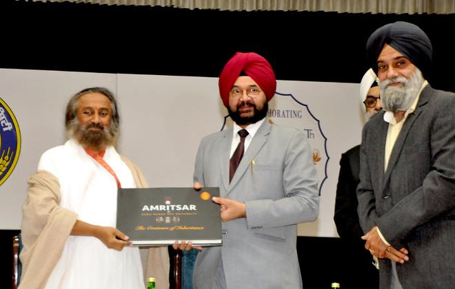 Translate Gurbani to reach every corner of the world, says Sri Sri