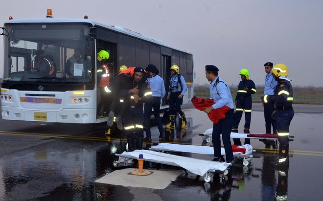 Mock drill conducted at city airport