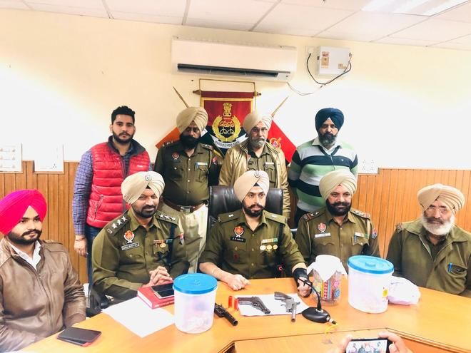 In special police drive, seven arrested with drugs, arms