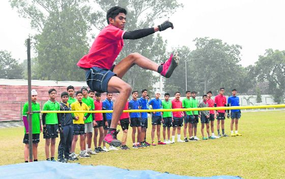 Ansh races to gold, silver for Naman