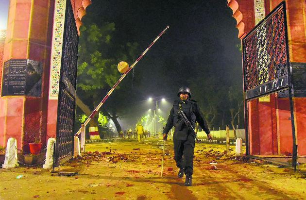 Dec 15 night at AMU that haunts Aligarh