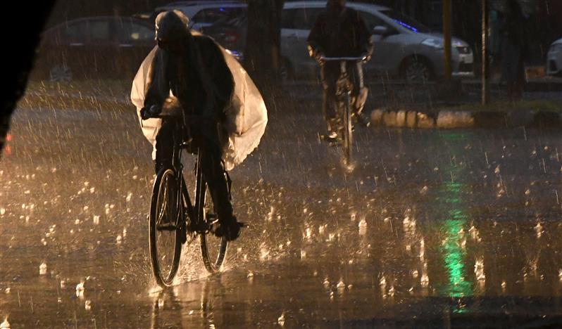 Delhi records highest December rain in 22 years on Friday