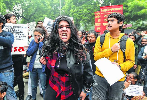 When agitation takes new shape