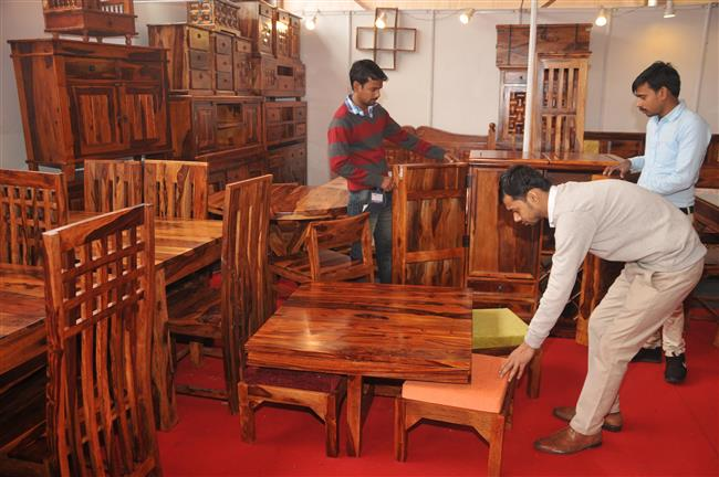 Pure wood furniture a crowd-puller at PITEX