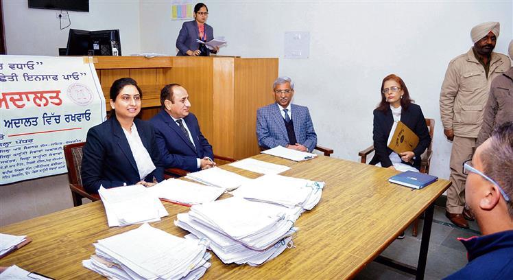 1,776 cases settled at lok adalat