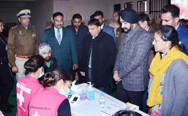 Cancer screening camp held for jail inmates
