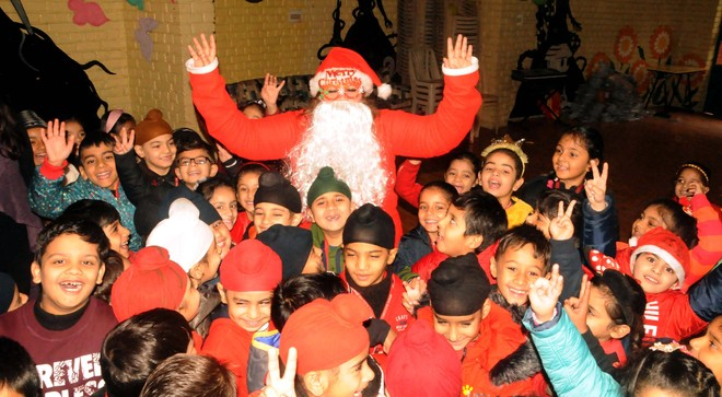 Christmas Celebrated With Fervour