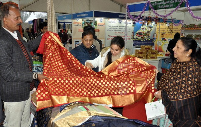 Weaved in opulence and heritage, Chanderi shines bright at PITEX