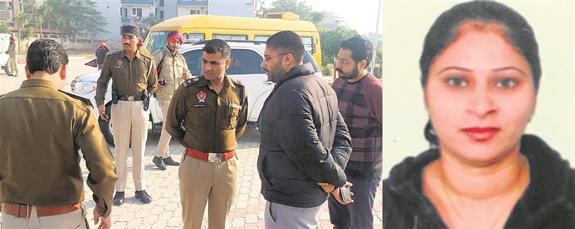 Teacher's murder cracked, prime suspect's mother held