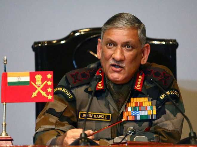Army Chief concerned about non-contact warfare challenges