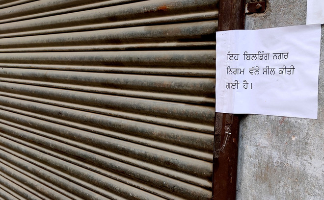 Six illegal commercial godowns sealed in city