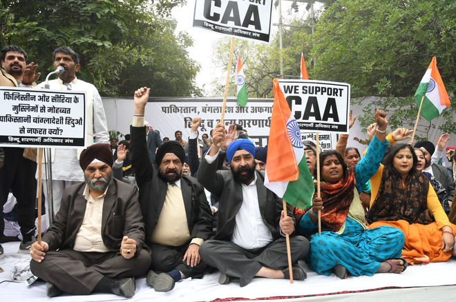 Afghan Sikh refugees support CAA