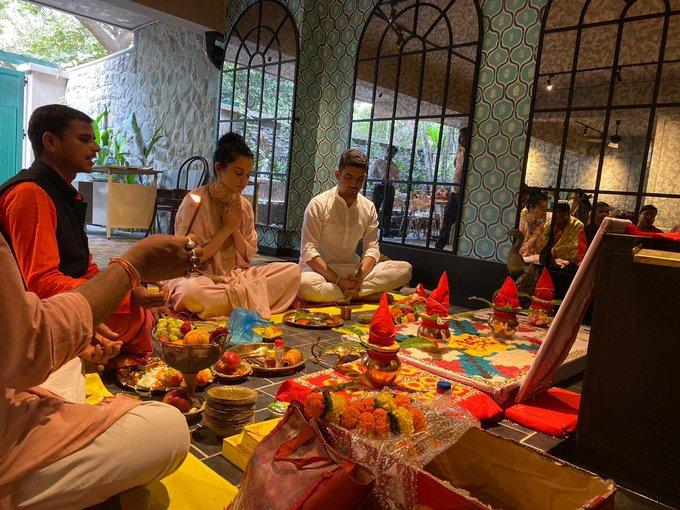 Kangana Ranaut inaugurates her production house; sister Rangoli shares photos, videos