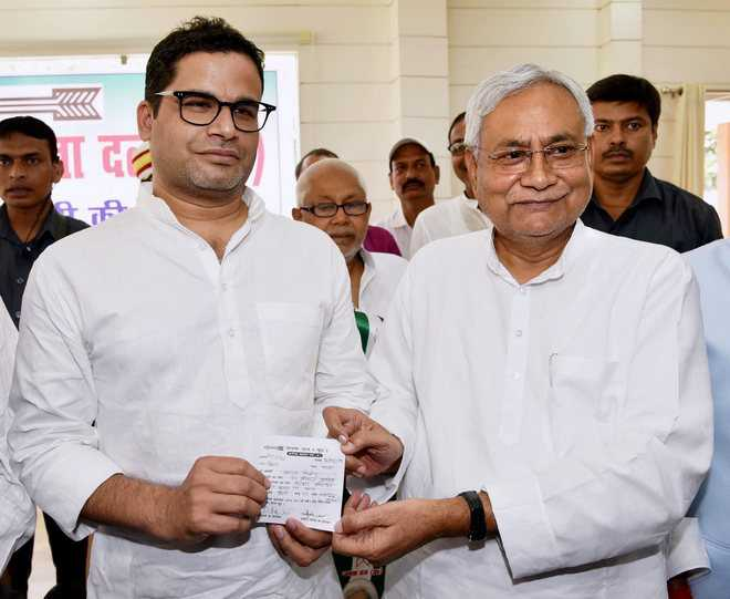 Inducted Prashant Kishor on Amit Shah's insistence: Nitish Kumar