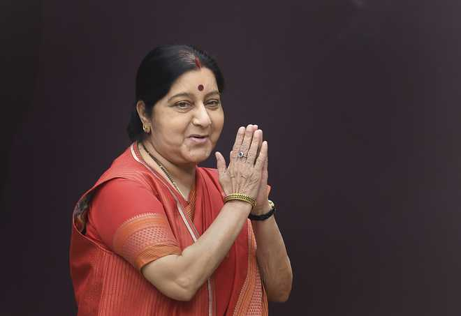 Ambala City bus stand to be renamed after Sushma Swaraj