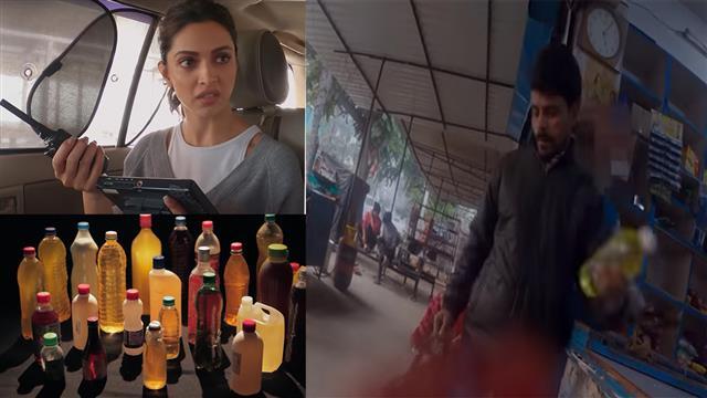 Deepika Padukone conducts 'sting operation', buys 24 bottles of acid