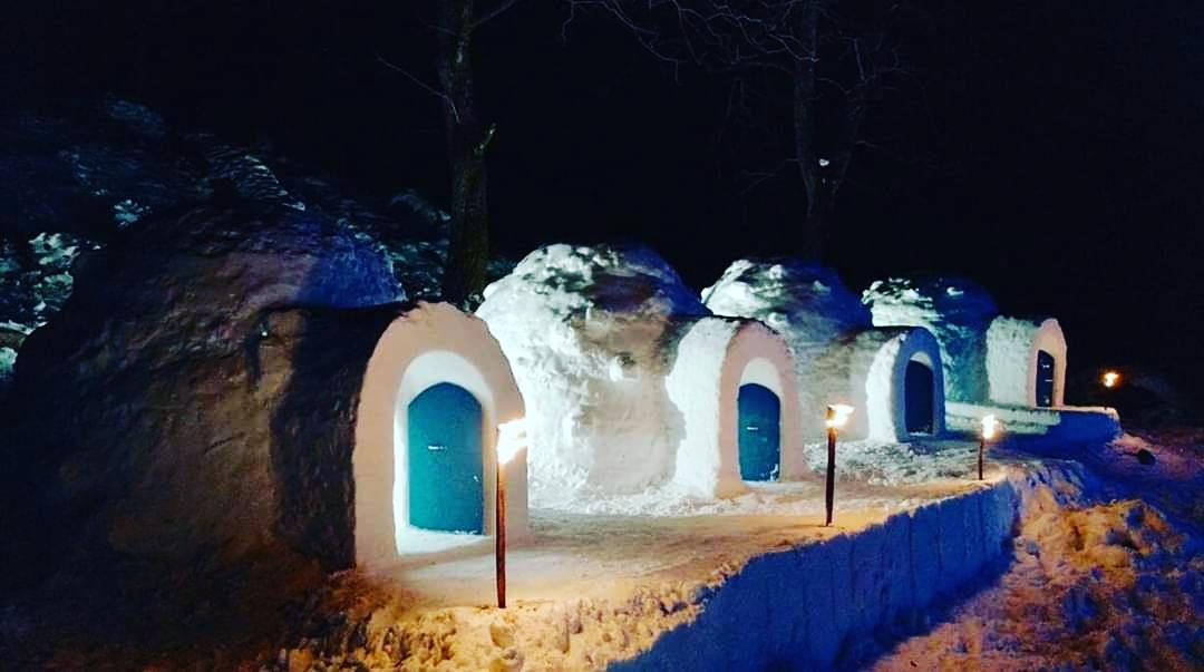 Igloos are Manali's latest tourist attraction