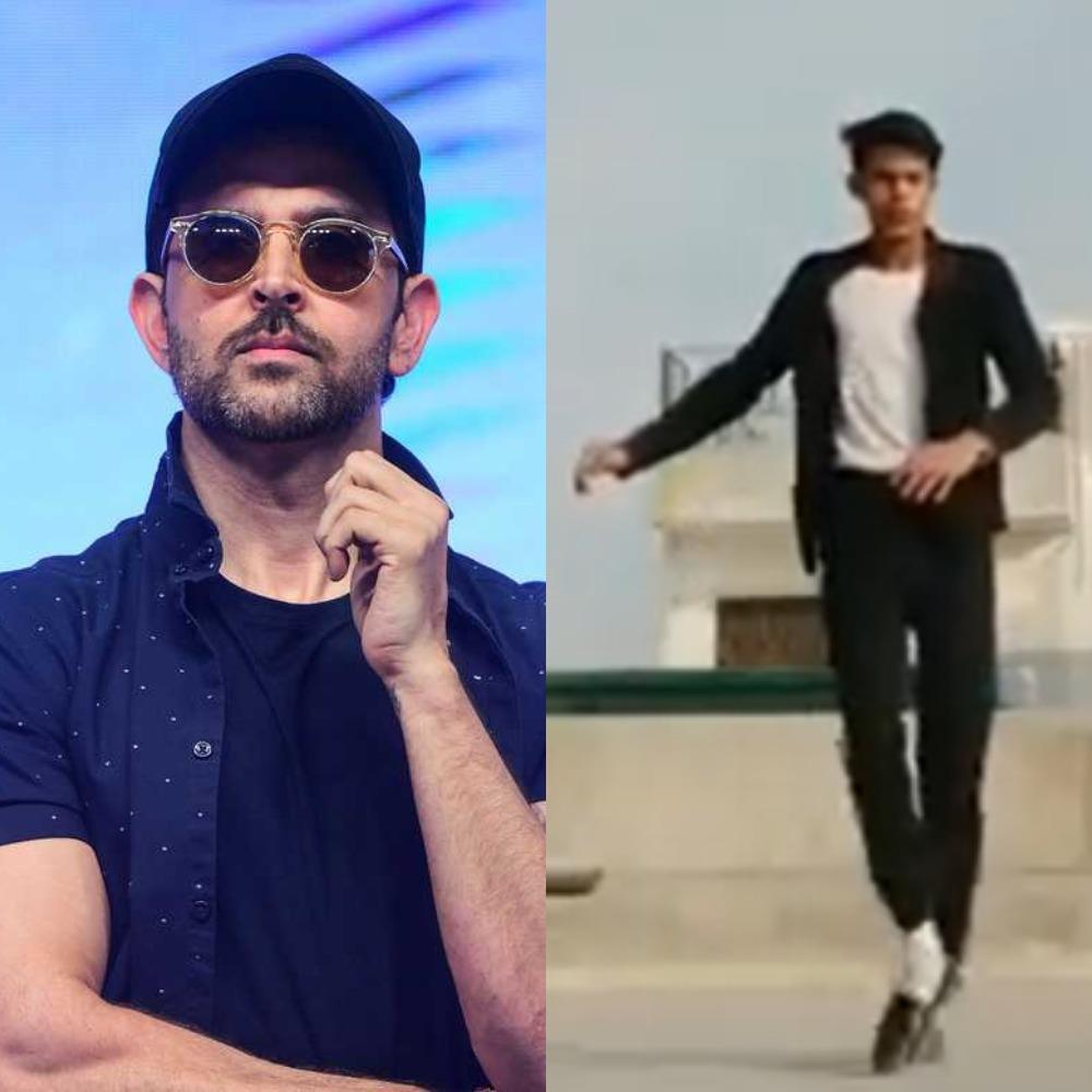 Hrithik Roshan can't get over TikTok user's killer dance moves; Twitter calls him 'young MJ'
