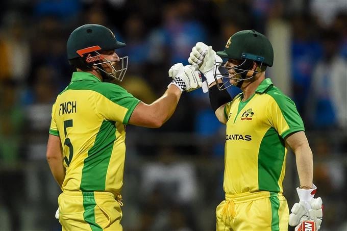 Finch, Warner smash centuries as Australia thrash India by 10 wickets in 1st ODI