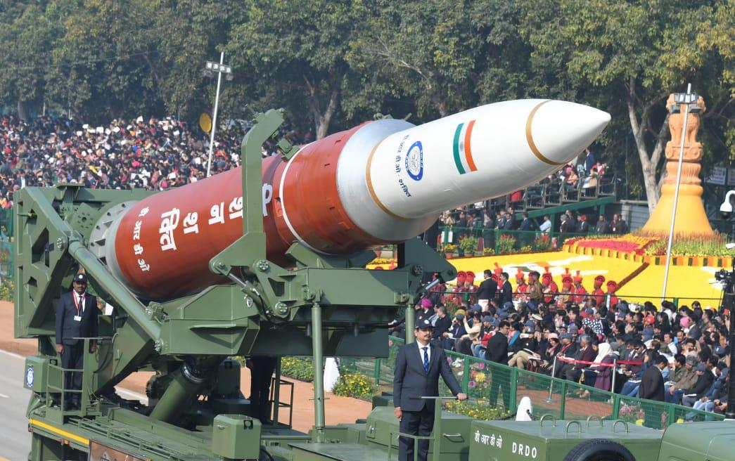 DRDO displays A-SAT weapon system at Republic Day Parade