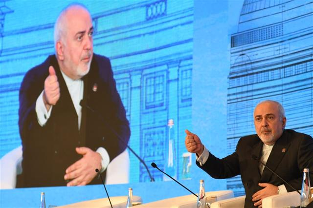 Interested in diplomacy but not in negotiating with the US: Iran's foreign minister