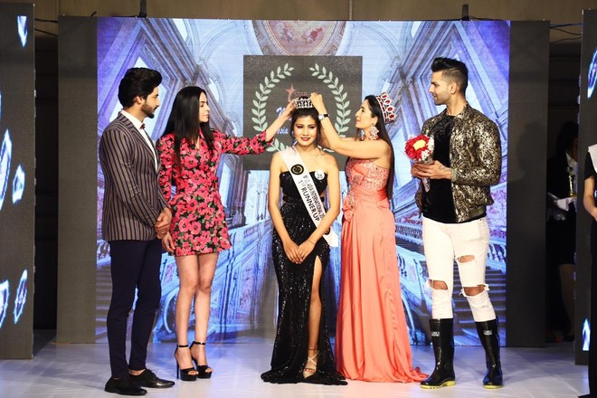 Nift Student Is Miss Asia Intl 1st Runner Up