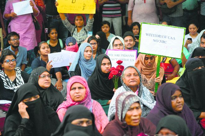 Govt faced with protests that are not dying down