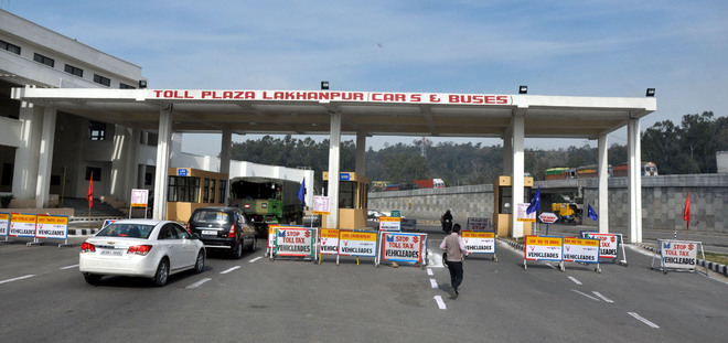 Lakhanpur toll abolition set to boost construction work
