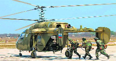 India, Russia conclude price talks for 200 Kamov copters