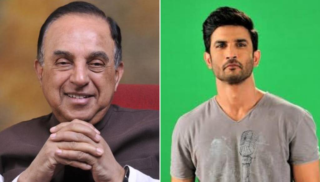 'Why was the orange juice glass not preserved' in Sushant Rajput death case, asks BJP MP Subramanian Swamy