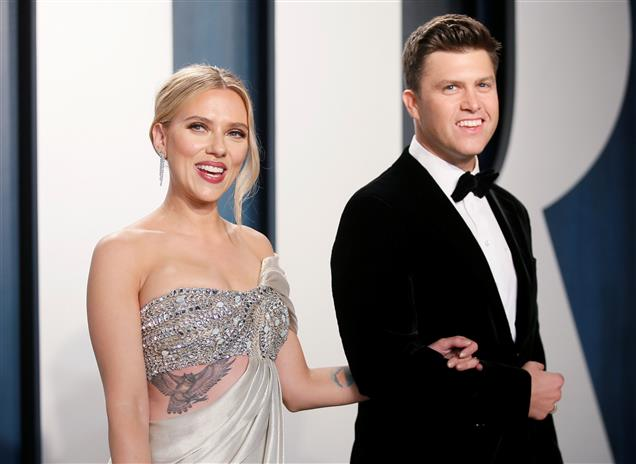Scarlett Johansson ties knot with comedian Colin Jost