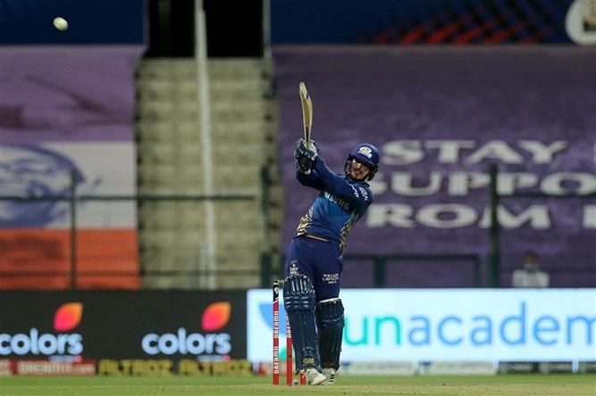IPL: Mumbai Indians beat KKR by 8 wickets