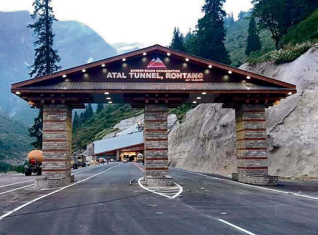 Atal Tunnel and the Lahaulite snowmen of yore