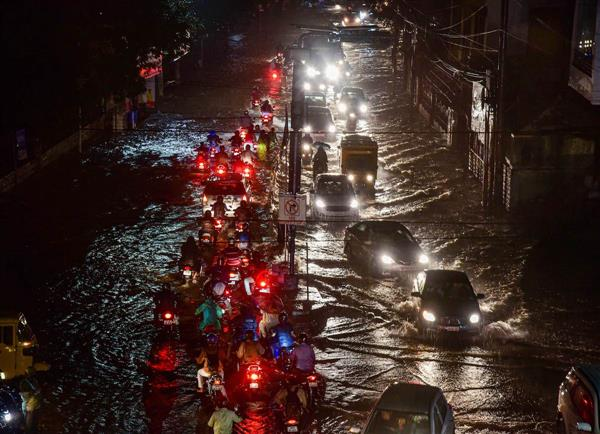 Rain returns after two days bringing back death and destruction in Hyderabad