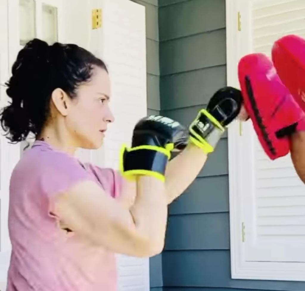 Kangana Ranaut begins hardcore training, says 'have given Bollywood its first-ever legitimate action heroine'