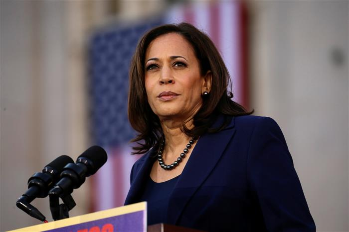 Kamala Harris suspends travel after staffer tests COVID-19 positive