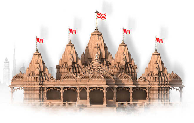 UAE Foreign Minister reviews progress on construction of first Hindu temple in Abu Dhabi