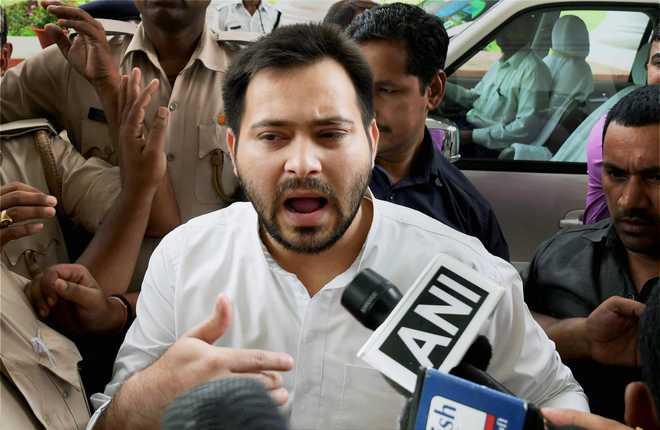 Tejashwi Yadav attacks Nitish Kumar, JD(U)-BJP hit back